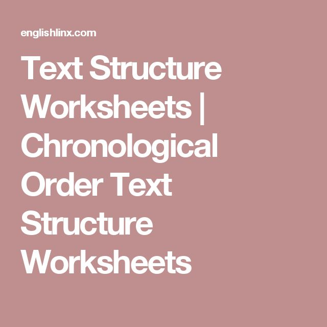 4th Grade Chronological Order Worksheets 4th Grade Free – Text Structure Worksheets 4th Grade