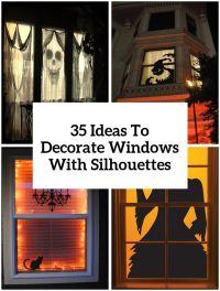 Best 25+ Halloween window decorations ideas on Pinterest ...