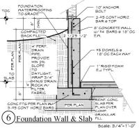 retaining wall basement - Google Search | DETAIL ...