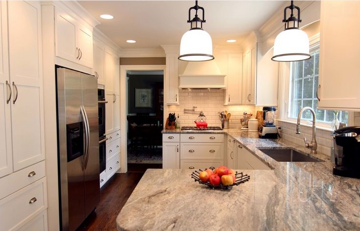 Pics Of Kitchens With Off White Cabinets Another Example Of Piracema White Granite | Kitchen