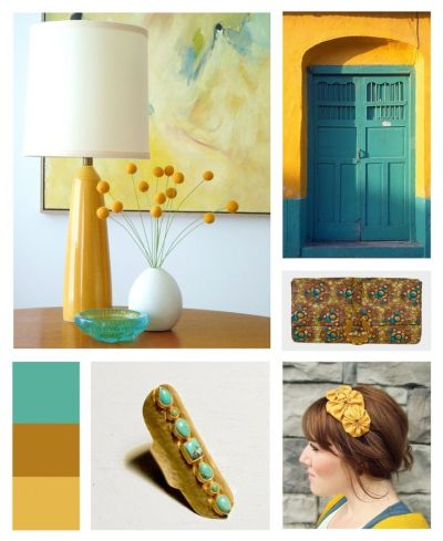 15 Best images about In love with Teal & Mustard!! on Pinterest | Mustard, Fireflies and Turquoise