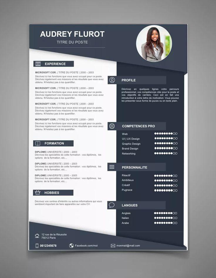 Cv Template Free Professional Resume Templates Word Best 25 Modern Cv Template Ideas Only On Pinterest Cv