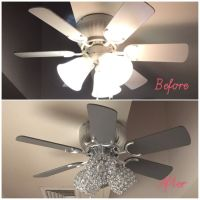 Best Painted Ceiling Fans ideas on Pinterest