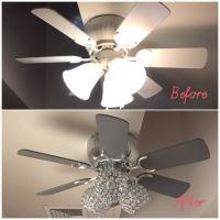 Best Painted Ceiling Fans ideas on Pinterest