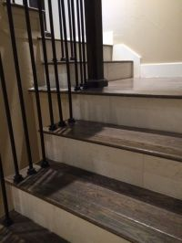 25+ best ideas about Tile Stairs on Pinterest   Tiled ...