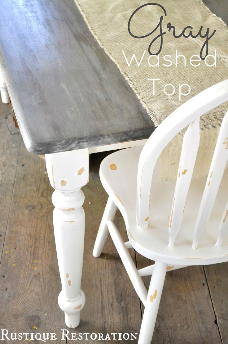 grey table beachy kitchen table 25 Best Ideas about Grey Table on Pinterest Grey stained wood table Grey stain and Grey house furniture