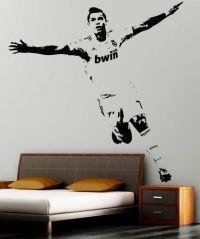 XXL Cristiano Ronaldo Famous Footballer Real Madrid Wall ...