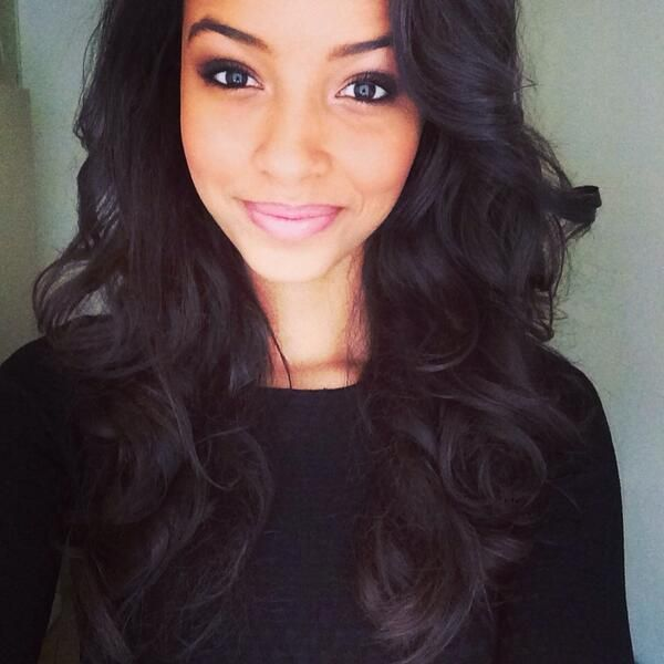 Ombre Hair Weave Bundles Flora Coquerel Instagram Miss France 2014 Hair And