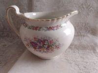"""Queens Bouquet by Johnson Brothers China. Creamer, 3"""" H x ..."""