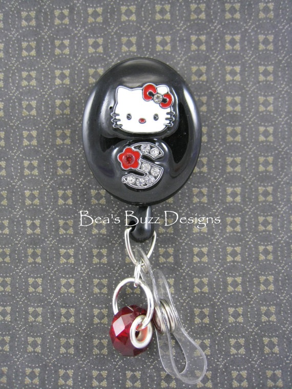 44 Best Images About Nurse Hello Kitty Retractable Id