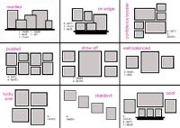 photo wall arrangements | Marriage and Love | Pinterest ...