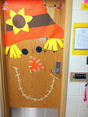 House of Krause: This Week in 2nd Grade Scarecrow Door