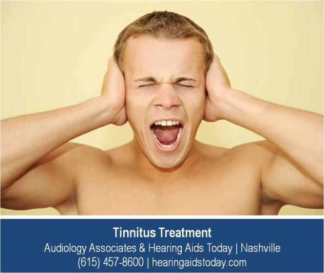 I suffer from tinnitus, a constant ringing or buzzing in the ears 2