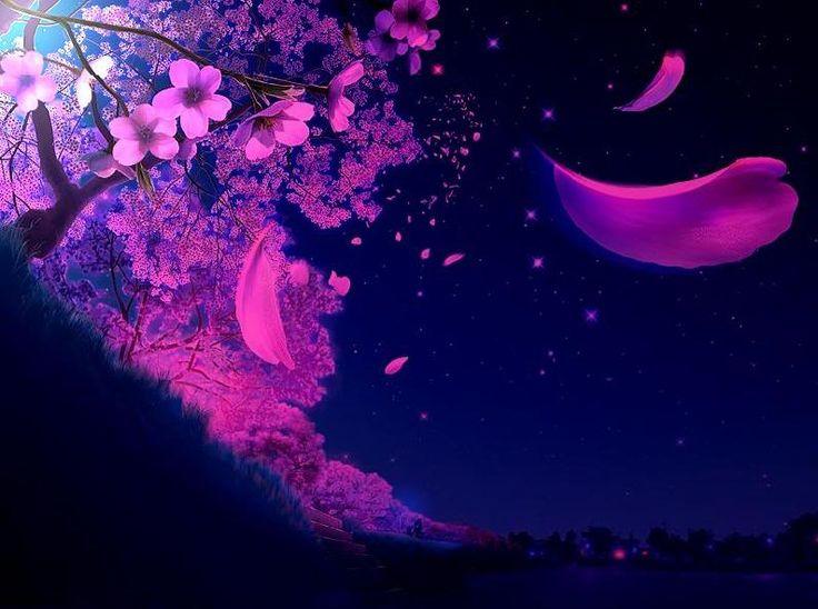 Sakura Falling Live Wallpaper All Things Purple Cool Falling Things Myspace Layouts 2