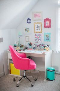 17 Best ideas about Pink Desk Chair on Pinterest | Pink ...