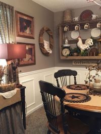 25+ best ideas about Primitive dining rooms on Pinterest ...
