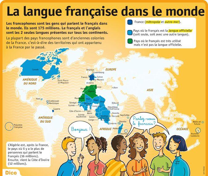 langue francaise sur cv