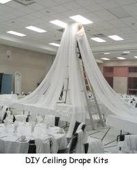 Ceiling Draping /Kit for church liturgical seasons ...