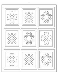 9 best images about Quilt Coloring Pages on Pinterest ...