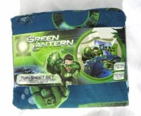 GREEN LANTERN 3 PC. TWIN SIZE SHEET SET | KID'S SHEETS ...