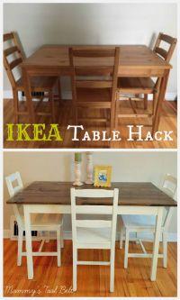 25+ best ideas about Ikea Table Hack on Pinterest | Ikea ...