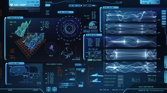 3d Animated Wallpaper For Windows 7 Ultimate Free Download Sci Fi Interface Design Prometheus Shaun Yue Gfx