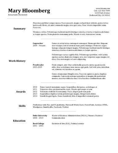 best resume maker template billybullock us