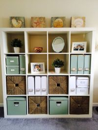 Home Office | White Ikea Expedit Bookcase | White and ...