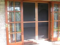 French Doors Screen Door Kit | Insect double door screen ...