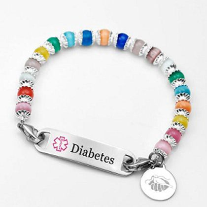 17 Best Images About Beaded Id Bracelets On Pinterest Id