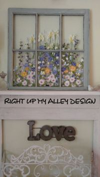 Best 25+ Painted window art ideas on Pinterest   Painted ...