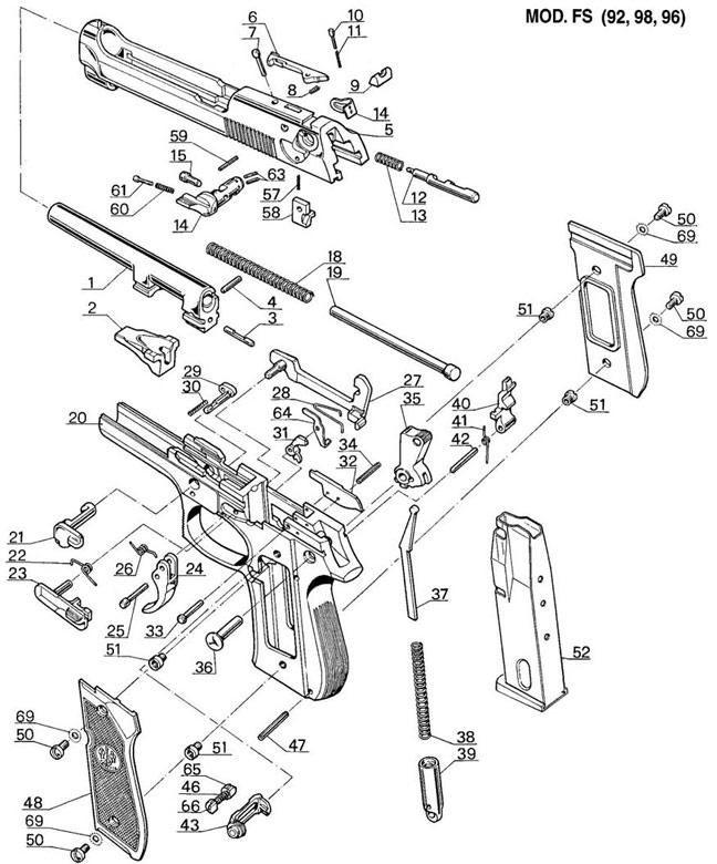 M9 Parts Diagram