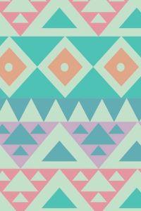 Pastel Aztec pattern design | Print making | Pinterest ...
