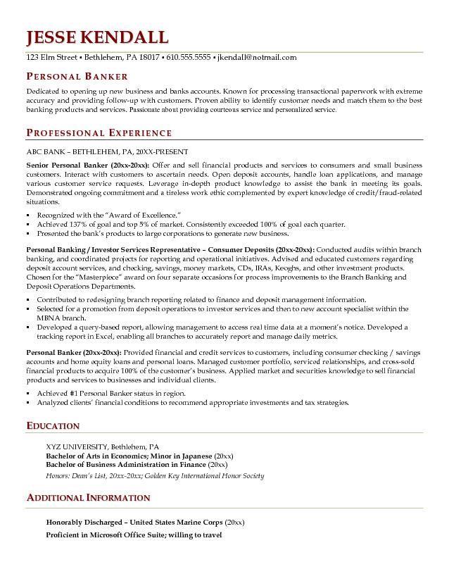 sample resume of icici bank po resume investment banking resume - resume examples for banking