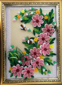 Paper Quilling Designs For Wall Frames