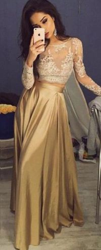 25+ best ideas about Gold Prom Dresses on Pinterest