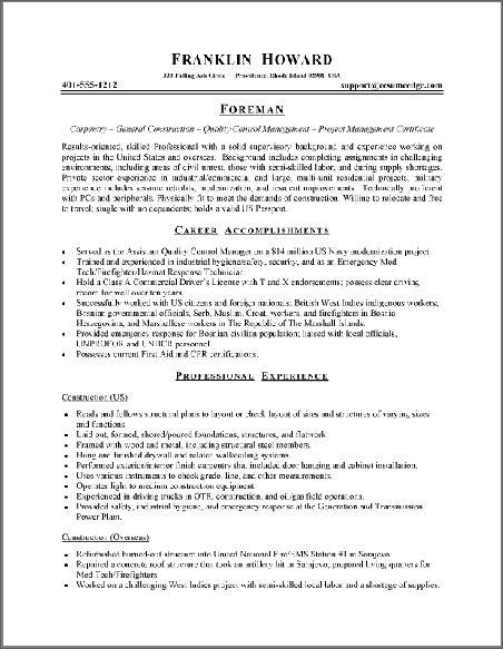 making an online resume