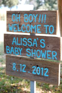 Baby Shower Sign Its a Boy Its A Girl Decorations Baby ...