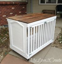 Build A Large Dog Crate - WoodWorking Projects & Plans