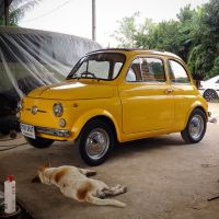 fiat 500 : restore by tOny run garagE | Fiat 500 : BKK ...