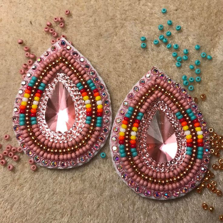Best 25+ Beaded earrings patterns ideas on Pinterest