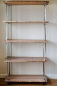 diy storage shelves - pipe, shelving by robindu ...
