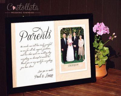 25+ best ideas about Parent wedding gifts on Pinterest ...