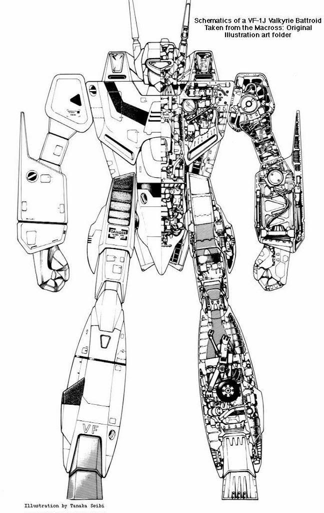 robotech schematics