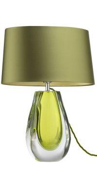 InStyle-Decor.com Designer Green Art Glass Table Lamp ...