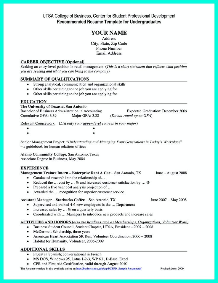 dazzling outstanding sample employment resume 3 combination - entry level job resume
