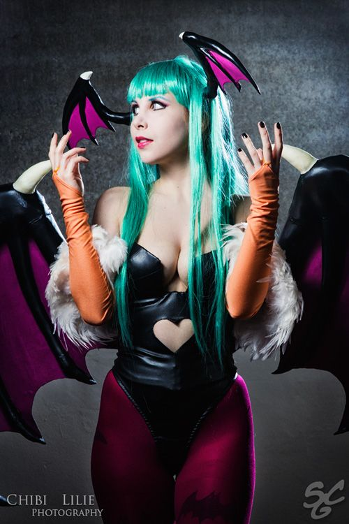 Wallpaper Girl Nerd Character Morrigan Aensland From Capcom S