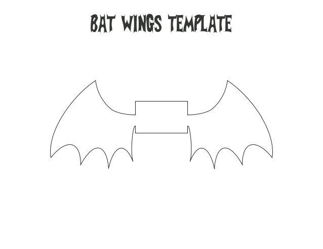 bat wing template - 28 images - bat wings printable templates - bat template