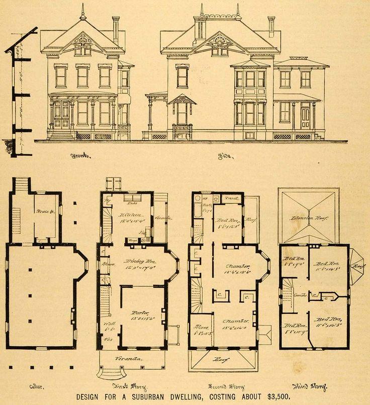 Old Victorian House Floor Plans Fantastic Floorplans