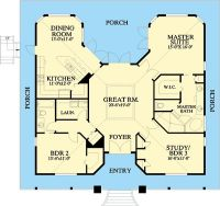 Plan 24046BG: Florida Cracker Style | House plans, House ...
